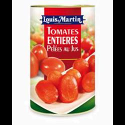 Tomates entières pelées au jus LOUIS MARTIN, 232g
