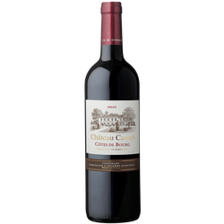 Côtes de Bourg AOP rouge Château Caruel, 75cl