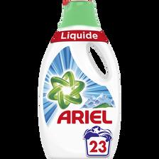 Lessive liquide alpine ARIEL, x23 soit 1,265ml