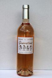 Vin Rosé IGP Pays D'Hérault Générations Domaine De La Parro Saint Jean De La Blaquière 75 cl