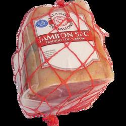 1/4 jambon sec sans os salé au sel de l'Ile de Ré