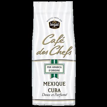 Legal Café Moulu Origine Mexique-cuba Le Cafe Des Chefs Legal, 250g