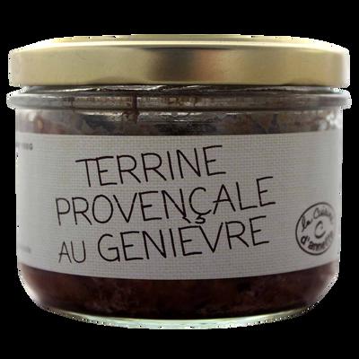 Terrine provençale au genièvre LA CUISINE D'ANNETTE, 200g