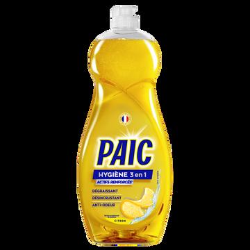 Paic  Liquide Vaisselle Hygiène 3 En 1 Citron Paic Flacon 750ml