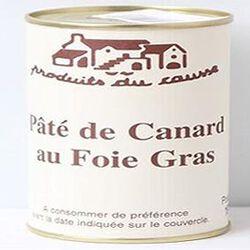 Pâté de canard au Foie Gras, Produits du causse, 190g