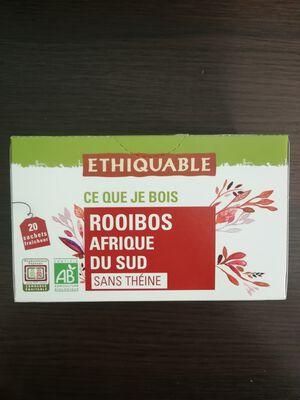 Rooibos sans théine 40g Ethiquable