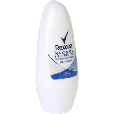 Déodorant maximum protection clean scent REXONA, bille 50ml