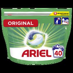 Lessive pods 3en1 original ARIEL doypack x40 doses
