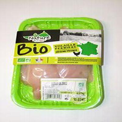 Filet poulet fermier BIO x2