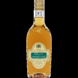 Vin blanc Pineau des Charentes Baronne de Fontignac U, 17°, bouteillede 75cl