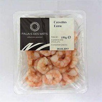 Crevettes Extra PALAIS DES METS,150g