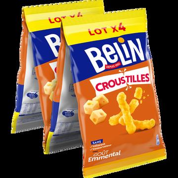 Belin Croustilles À L Emmental Belin, 4x138g