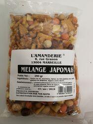 Mélange japonnais 250gr, l'Amanderie