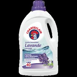 Lessive liquide original lavande CHANTECLAIR, 2 litres  40 lavages