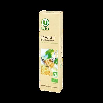Spaghetti bio  U, paquet de  500g