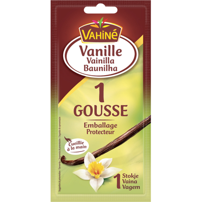1 Gousse de vanille VAHINE, 2g