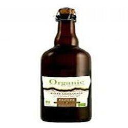 """Bière blonde artisanale bio aux céréales d'Auvergne """"organic"""" 75cl"""