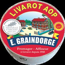 Petit Livarot AOP au lait pasteurisé, GRAINDORGE ET FILS, 22% de MG, 250g