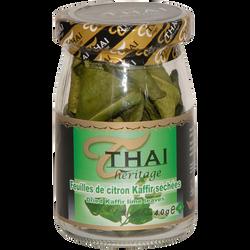 Feuilles de citron kafiru THAI HERITAGE, 4g