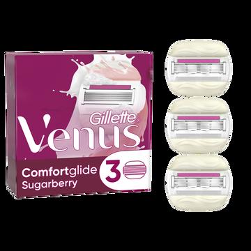 Gillette Lames De Rasoir Venus Sugarberry Gillette X3