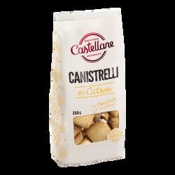 Canistrellis au citron, BISCUITERIE CASTELLANE, 350g