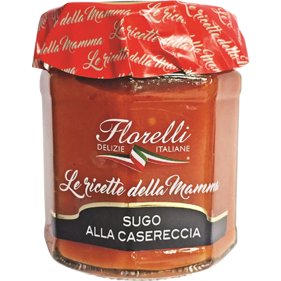 Sauce tomate à l'Huile d'Olive vierge Extra FLORELLI,  200g