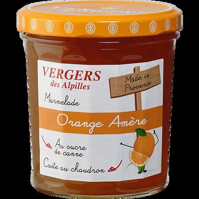 Confiture biologique extra d'orange, VERGER DES ALPILLES, 370g
