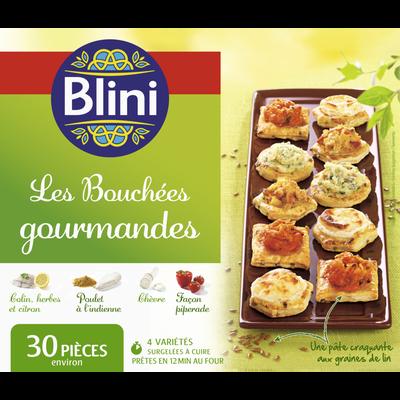 Bouchées gourmandes BLINI, 300g