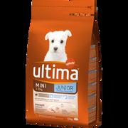 Ultima Croquettes Pour Chiots Spécial Mini Junior De 2 À 8 Mois Ultima, 1,5kg