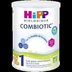 HIPP 1er âge bio combiotic 0 à 6 mois boîte 800g
