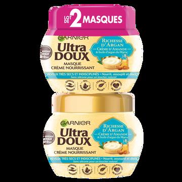 Garnier Masque Richesse Argan Ultra Doux 2x320ml