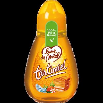 Tartimiel miel liquide LUNE DE MIEL, flacon de 250g