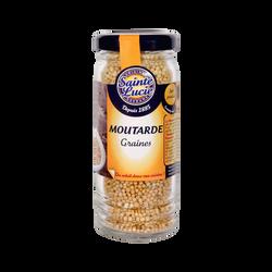 Moutarde graines SAINTE LUCIE, 65g