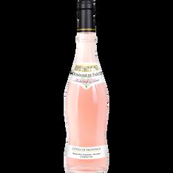 """Vin rosé AOC Côtes de Provence """"Domaine de Paris"""", bouteille de 75cl"""