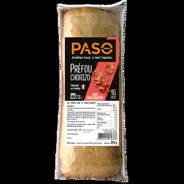 Paso Traiteur Préfou Au Chorizo Pré Tranché Paso, 350g