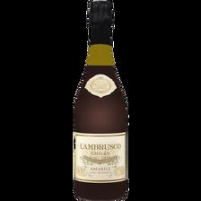 Lambrusco Emilia IGT amabile, U, bouteille de 75cl