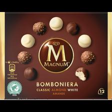 MAGNUM bomboniera classic almond white, paquet de 104g