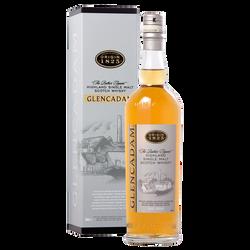 Scotch whisky origin 1825 single malt GLENCADAM , 40°, 70cl sous étui