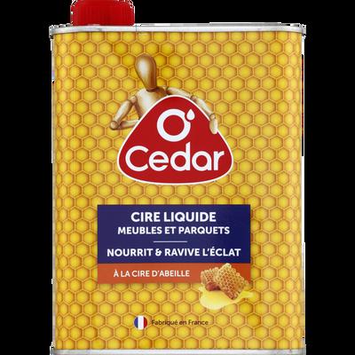Cire liquide meubles et parquets O'CEDAR, 750ml