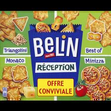 Belin Assortiment De Crackers Réception , 2x380g