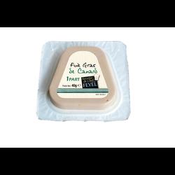 Foie gras de canard trapèze Feyel tranche individuelle 40g