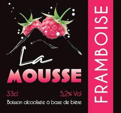 MOUSSE FRAMBOISE 3X33CL