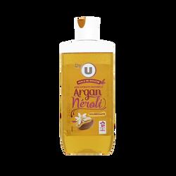 Huile douche parfum néroli & huile d'argan BY U, flacon de 250ml