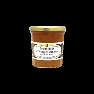 Marmelade d'orange au miel RUCHERS DE BOURGOGNE, 375g