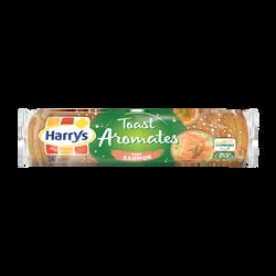 Toasts ronds aux aromates spécial saumon HARRYS, paquet de 280g