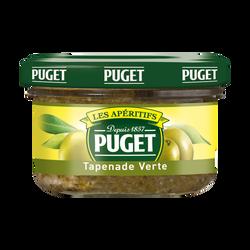 Tapenade d'olive verte PUGET, bocal de 90g
