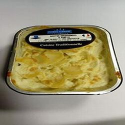 Gratin dauphinois 2 parts VERRIERE TRAITEUR 430g