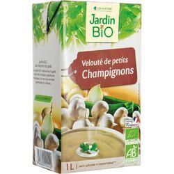 Velouté de petits Champignons JARDIN BIO 1l