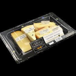 Assiette fromagère médaillés Atelier de Châteaubourg, 370g