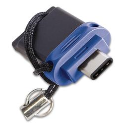 CLE USB TYPE C VERBATIM DUAL 16GO-USB 3.0-TAILLE MINI- RETRACTABLE